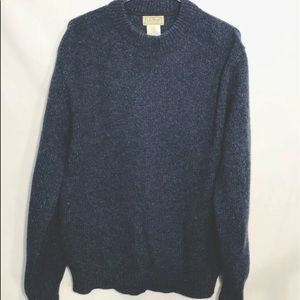 Vintage L.L. Bean sweater L wool blend made in USA